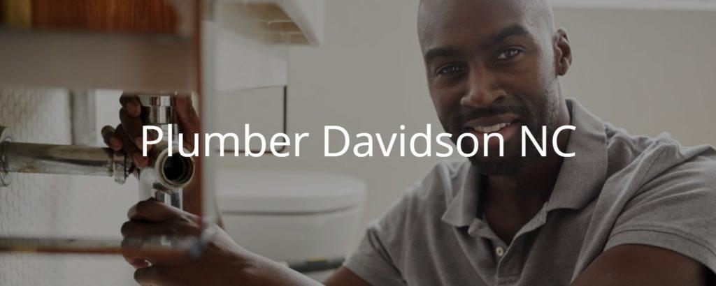 Plumber Davidson NC