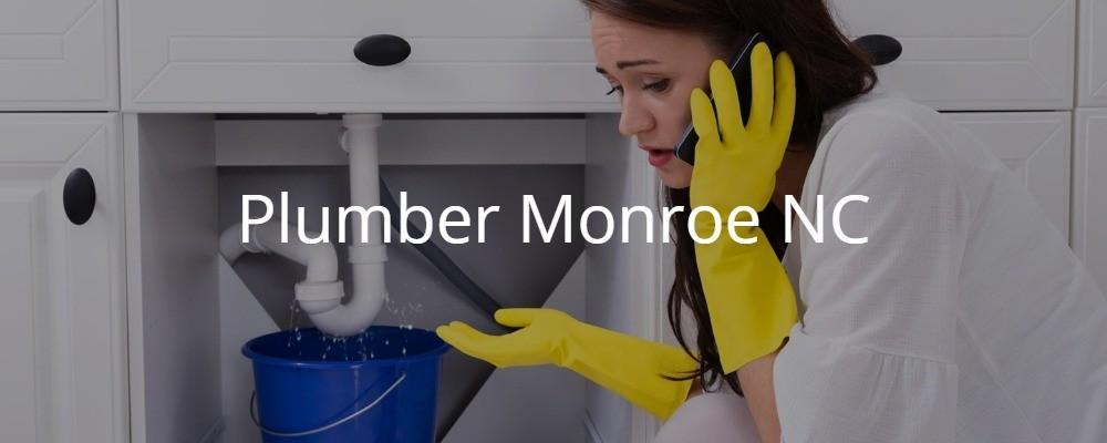 Plumber Monroe NC